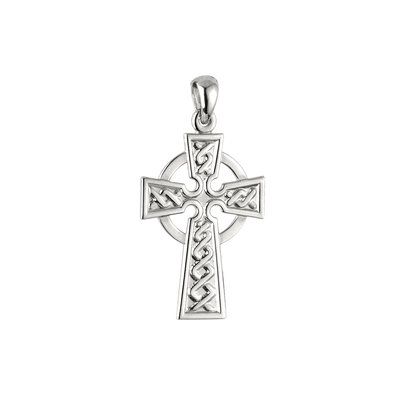 Sterling Silver Celtic Cross Small