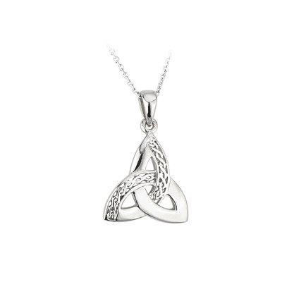 Trinity Knot Celtic Pendant - Sterling Silver