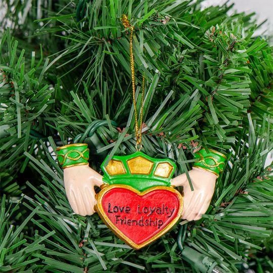 Claddagh Heart Ornament